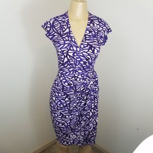 Maggie London Wrap Dress